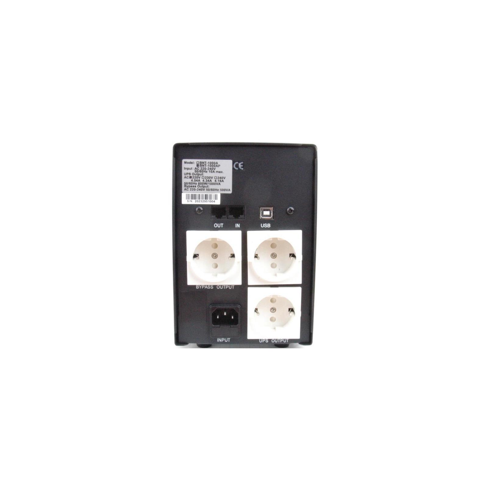 Источник бесперебойного питания BNT-1000 AP USB Powercom (BNT-1000 AP USB Schuko) изображение 2