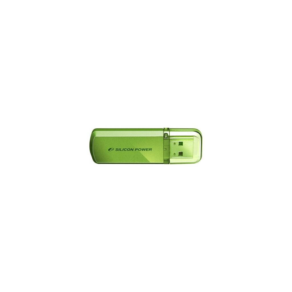 USB флеш накопитель Silicon Power 4Gb Helios 101 green (SP004GBUF2101V1N)