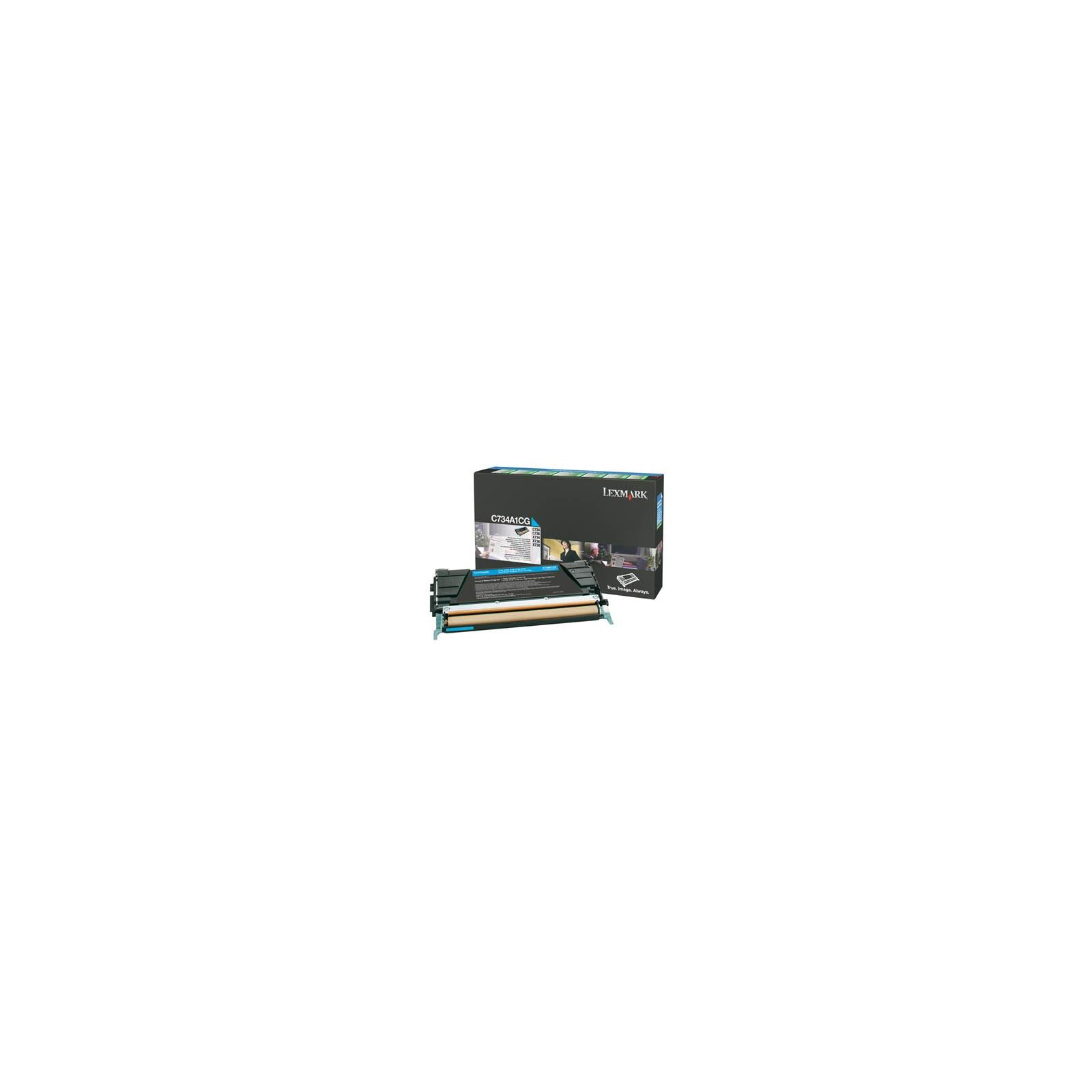 Картридж LEXMARK C73x/X73x Cyan 6k (C734A1CG)