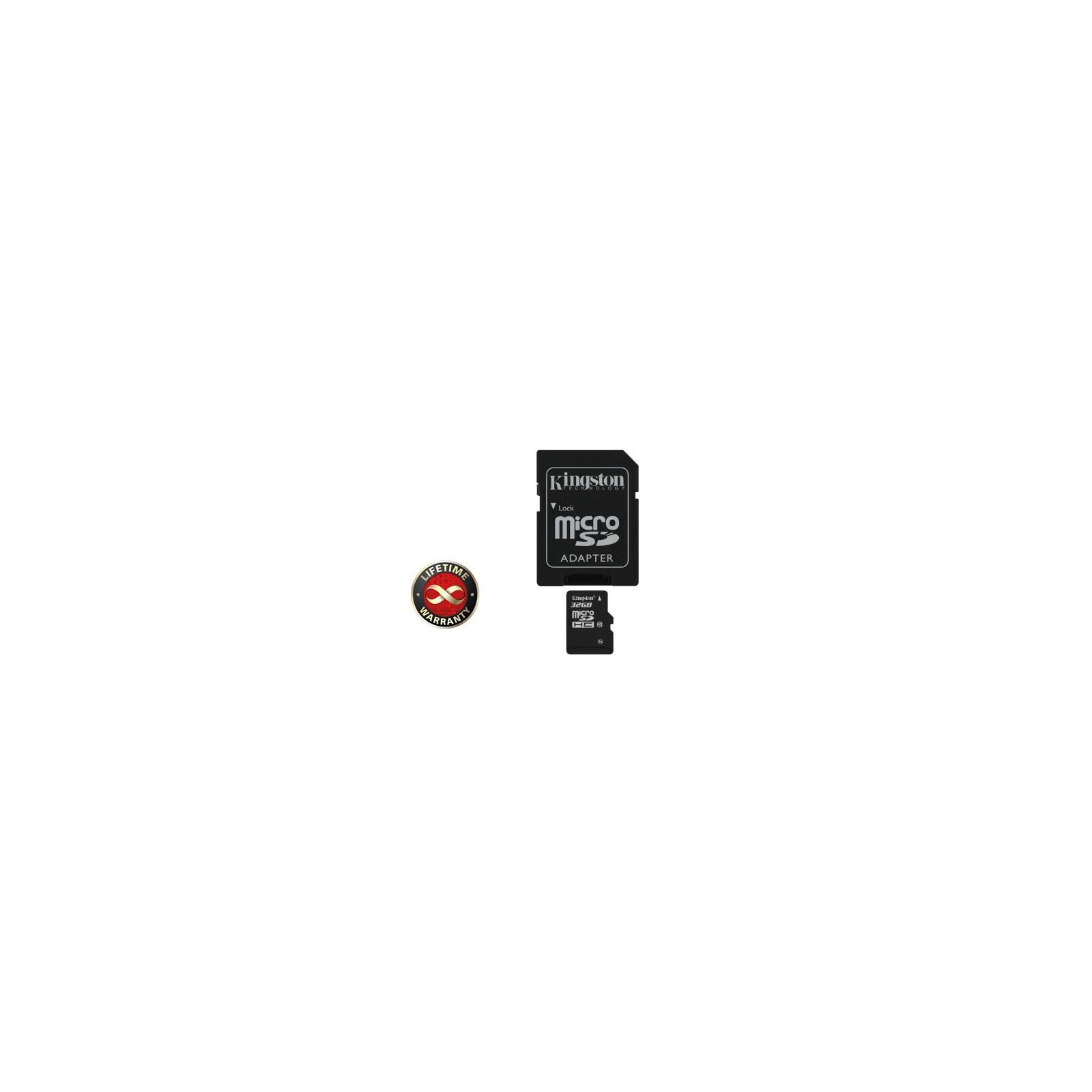 Карта памяти Kingston 32Gb microSDHC class 10 (SDC10/32GB)
