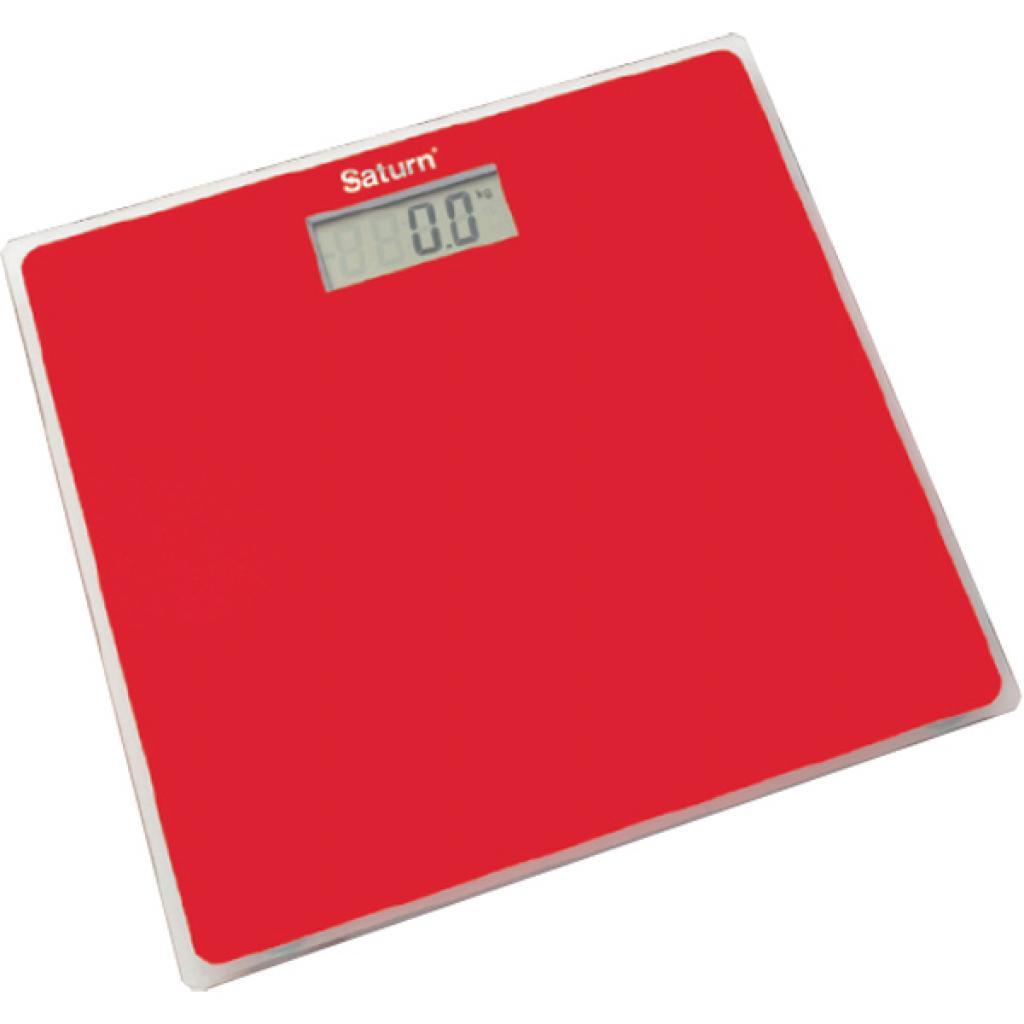 Весы напольные SATURN ST-PS1247 Red