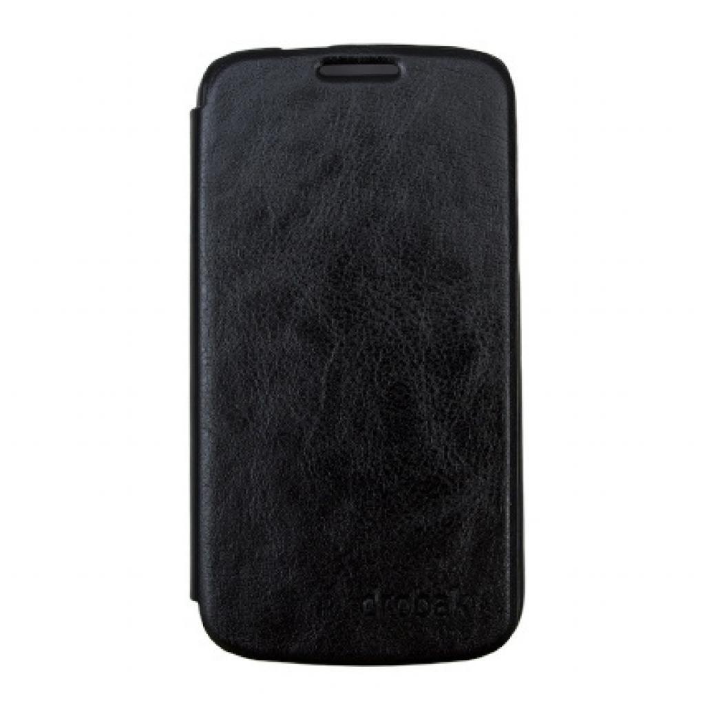 Чехол для моб. телефона Drobak для Samsung I9260 Galaxy Premier /Book Style/Black (215277)