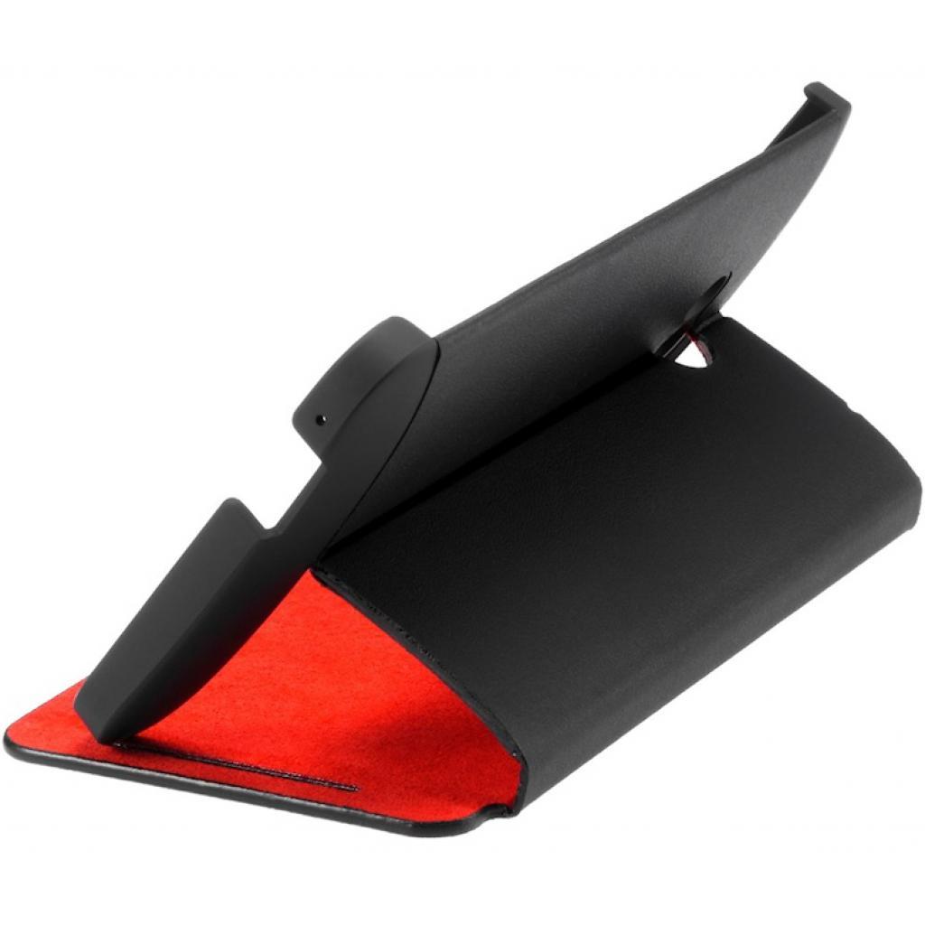 Чехол для моб. телефона HTC One Dual Sim(HC J841 Black-Red) (99H11325-00) изображение 2