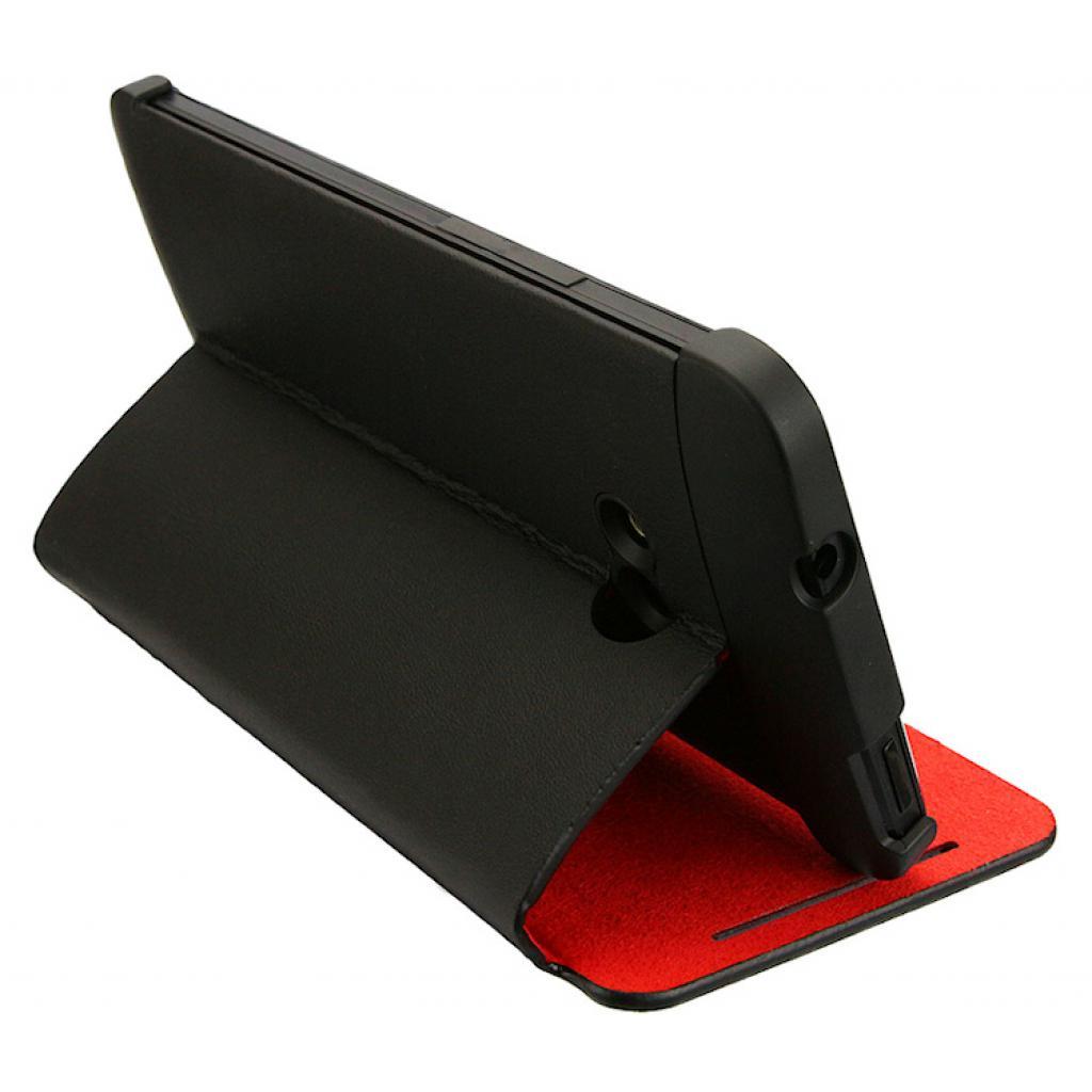Чехол для моб. телефона HTC One Dual Sim(HC J841 Black-Red) (99H11325-00) изображение 3