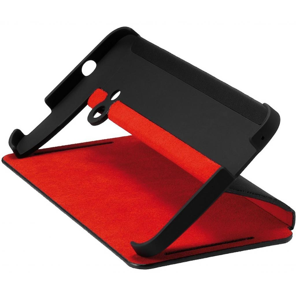 Чехол для моб. телефона HTC One Dual Sim(HC J841 Black-Red) (99H11325-00)