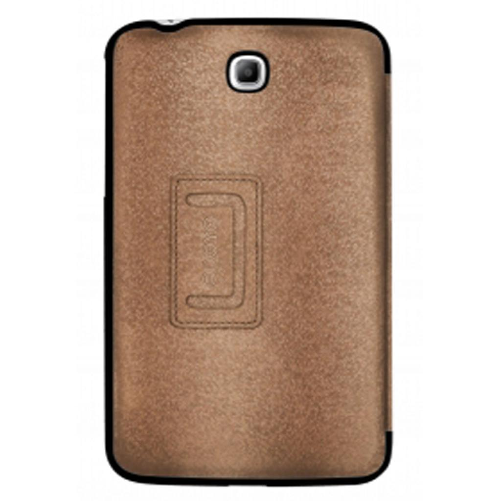 Чехол для планшета ODOYO Galaxy TabTAB3 7.0 /GLITZ COAT FOLIO SADDLE BROWN (PH621BR) изображение 2