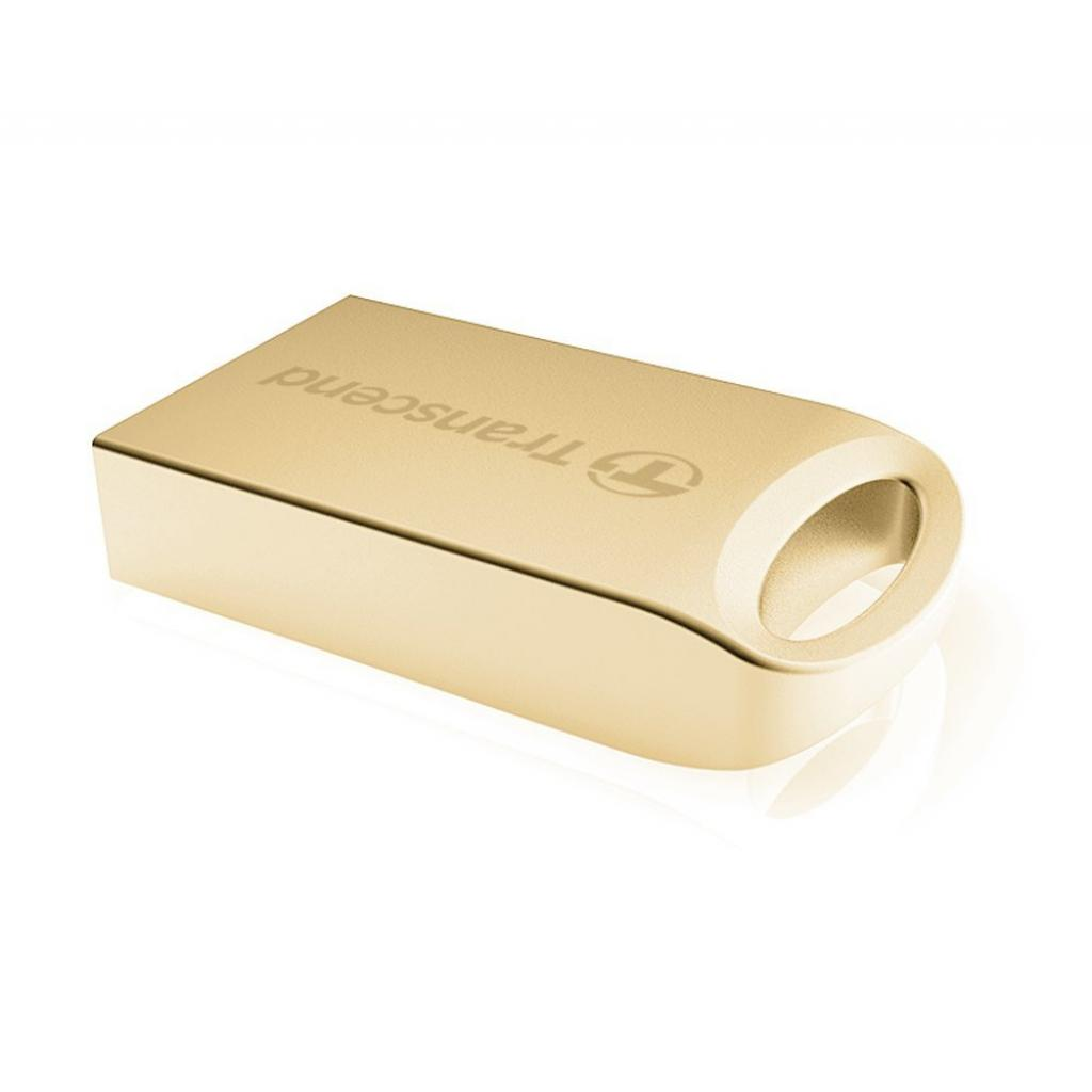 USB флеш накопитель Transcend JetFlash 510, Gold Plating (TS8GJF510G) изображение 2