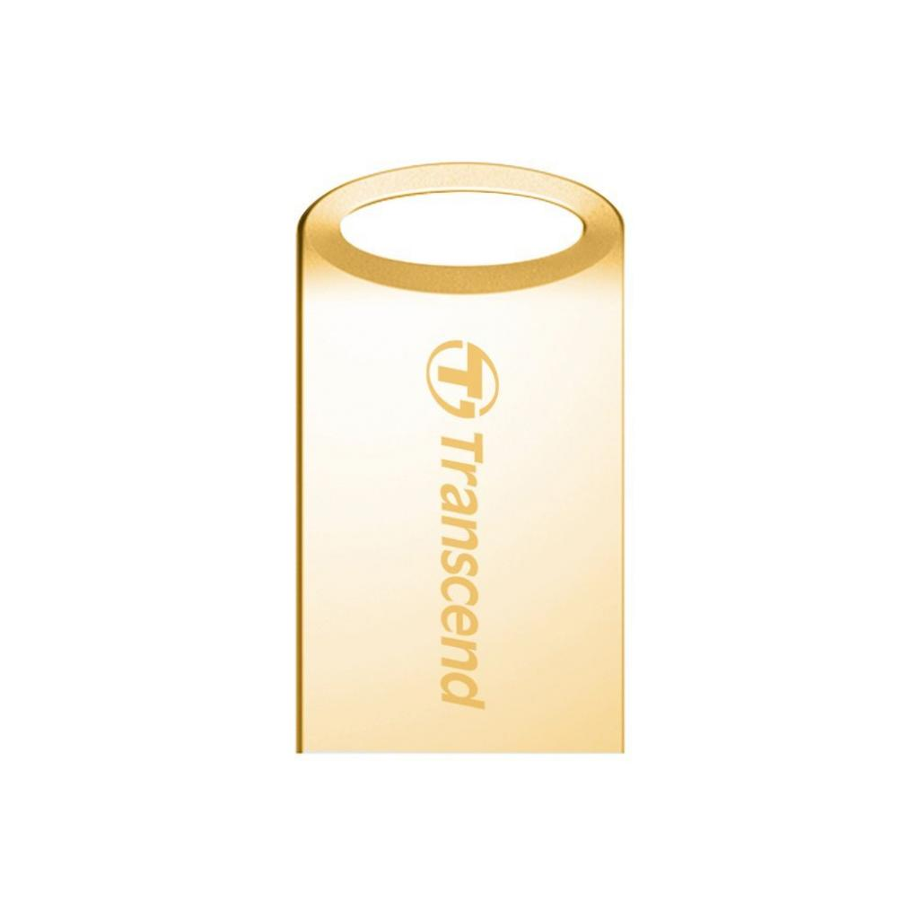 USB флеш накопитель Transcend JetFlash 510, Gold Plating (TS8GJF510G)