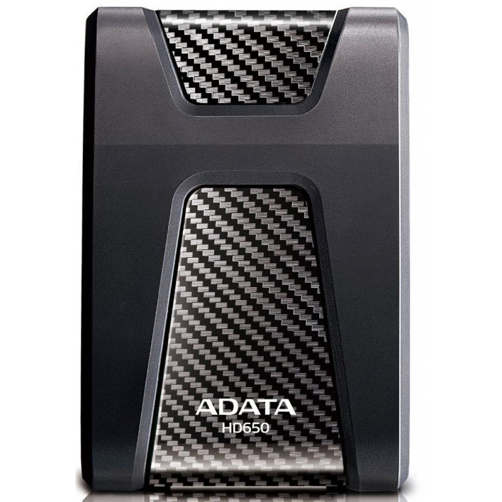 """Внешний жесткий диск 2.5"""" 1TB ADATA (AHD650-1TU3-CBK) изображение 2"""