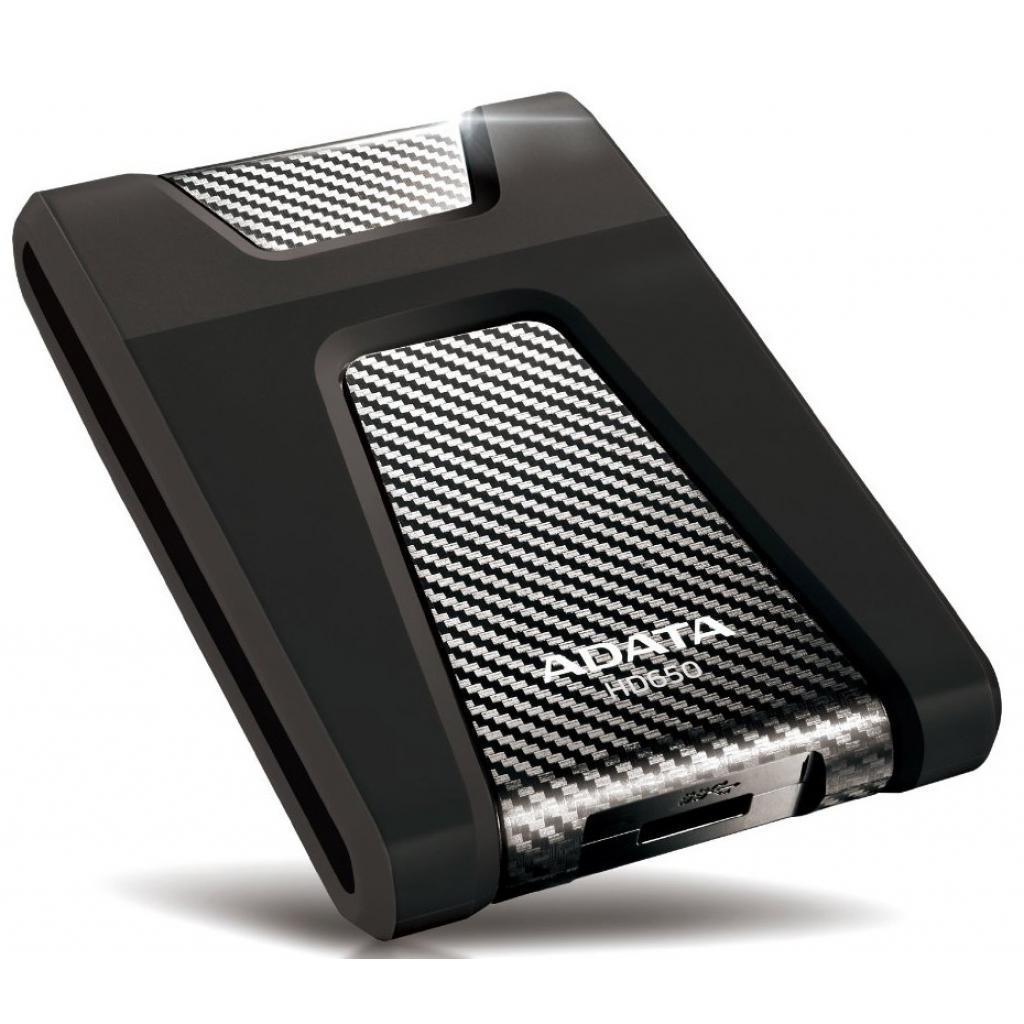 """Внешний жесткий диск 2.5"""" 1TB ADATA (AHD650-1TU3-CBK) изображение 3"""