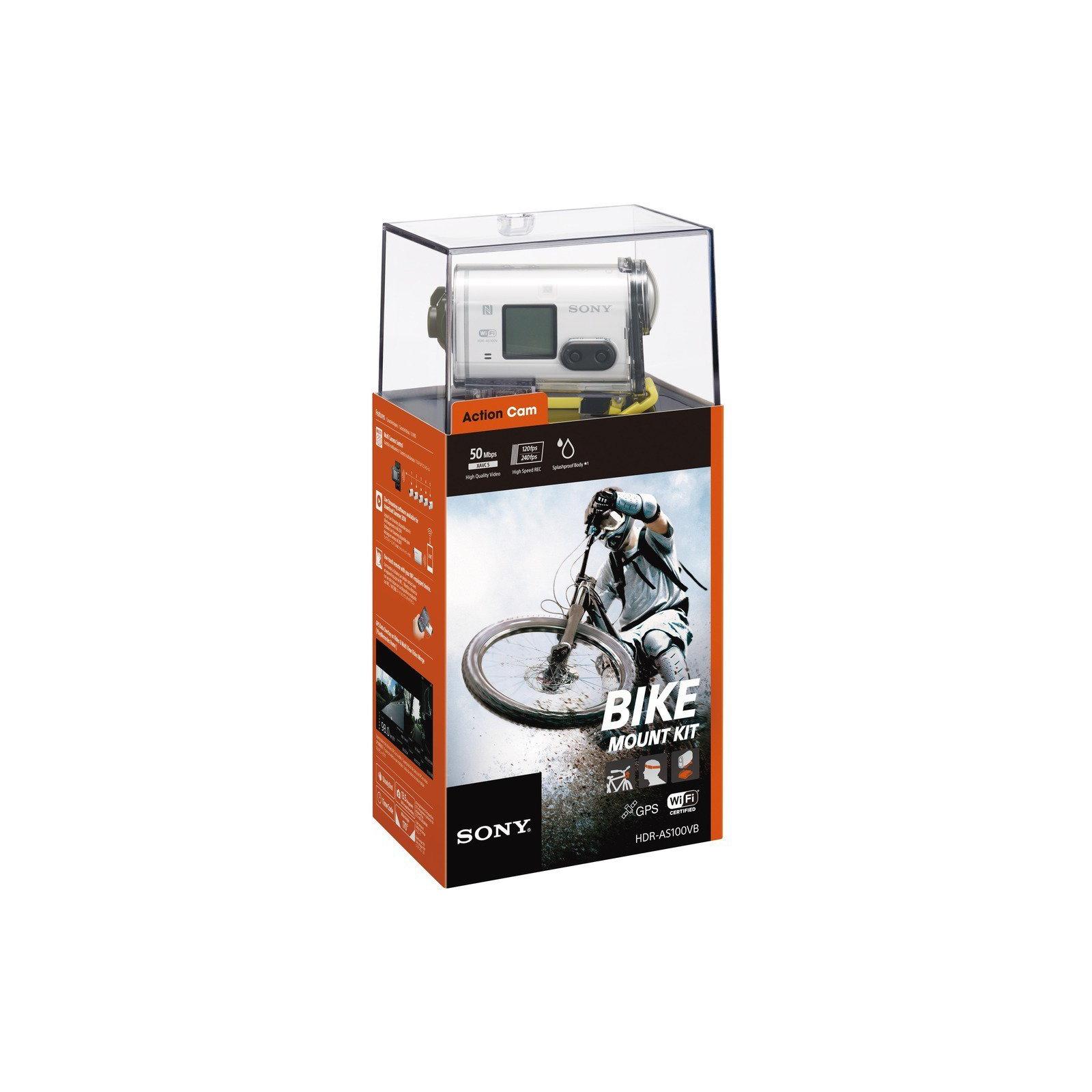 Экшн-камера SONY HDR-AS100V w/bicycle mount (HDRAS100VB.CEN) изображение 10