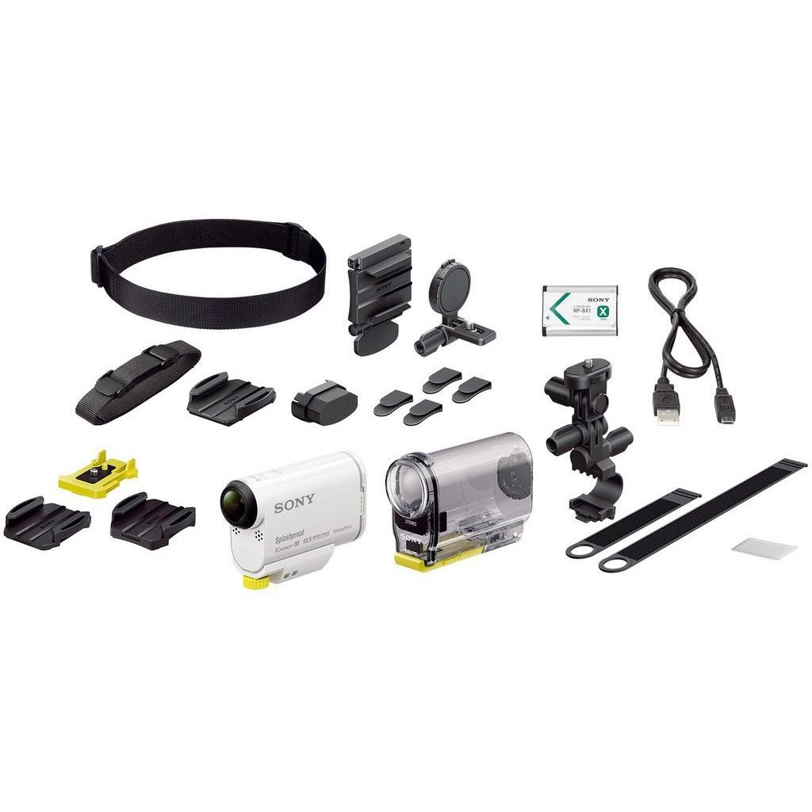 Экшн-камера SONY HDR-AS100V w/bicycle mount (HDRAS100VB.CEN) изображение 9