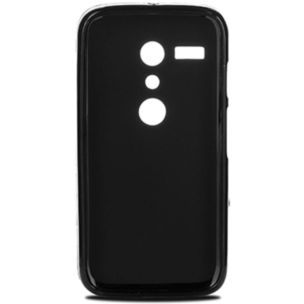 Чехол для моб. телефона для Motorola Moto G (Black) Elastic PU Drobak (216502) изображение 2