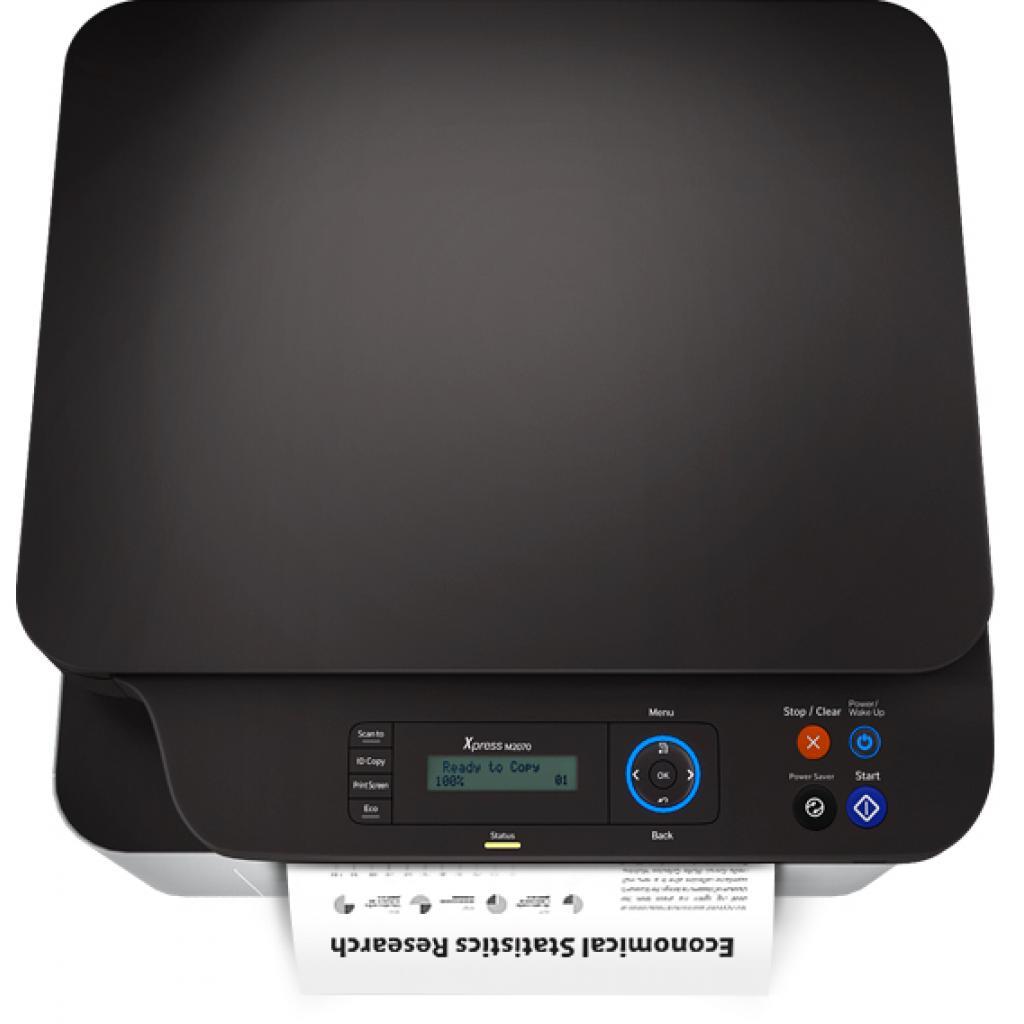 Многофункциональное устройство Samsung SL-M2070 (SL-M2070/XEV) изображение 10