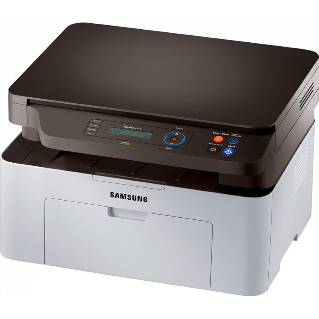 Многофункциональное устройство Samsung SL-M2070 (SL-M2070/XEV) изображение 3