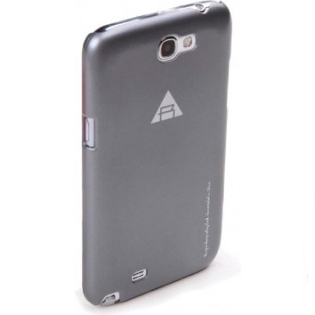 Чехол для моб. телефона Rock Samsung Note2 N7100 New naked shell series grey (N7100-43897) изображение 2