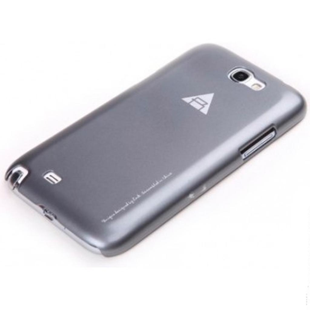Чехол для моб. телефона Rock Samsung Note2 N7100 New naked shell series grey (N7100-43897) изображение 3