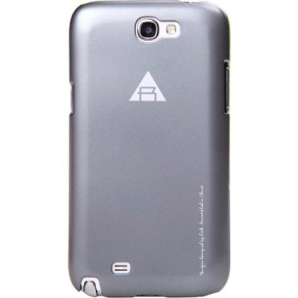 Чехол для моб. телефона Rock Samsung Note2 N7100 New naked shell series grey (N7100-43897)