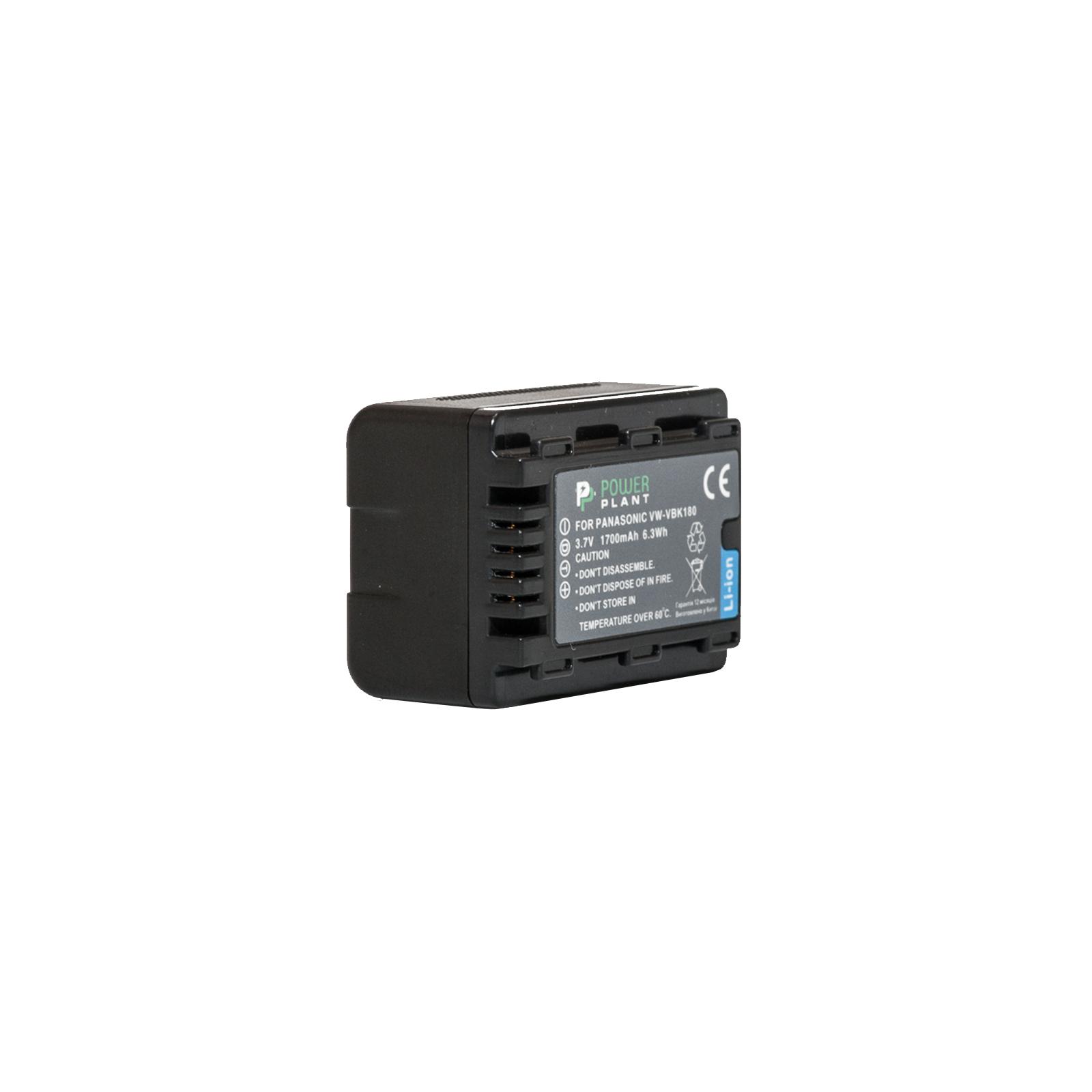 Аккумулятор к фото/видео PowerPlant Panasonic VW-VBK180 (DV00DV1291)