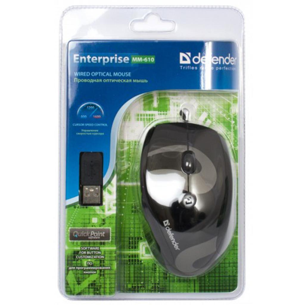 Мышка Defender Enterprise MM-610 (52610) изображение 3