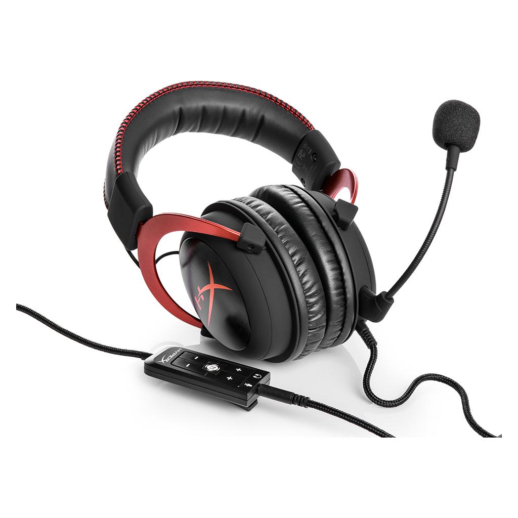 Навушники HyperX Cloud II Gaming Red (KHX-HSCP-RD) зображення 6