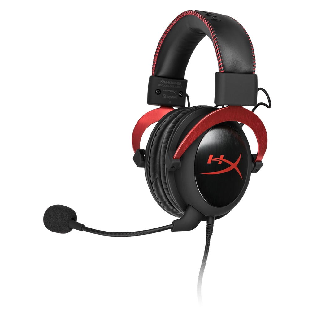 Навушники HyperX Cloud II Gaming Red (KHX-HSCP-RD)