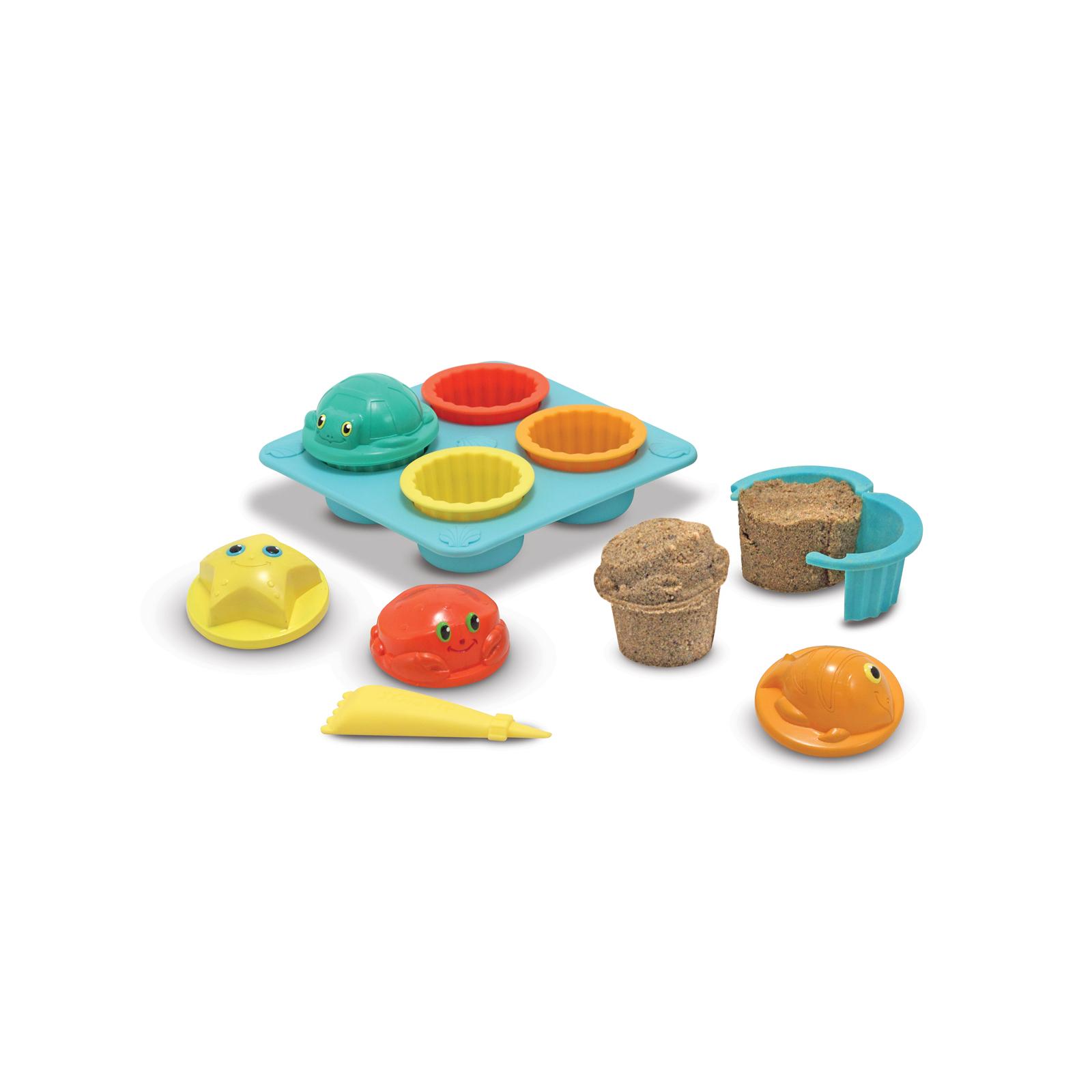 Игровой набор Melissa&Doug Песочные формы для кексиков (MD6431) изображение 2