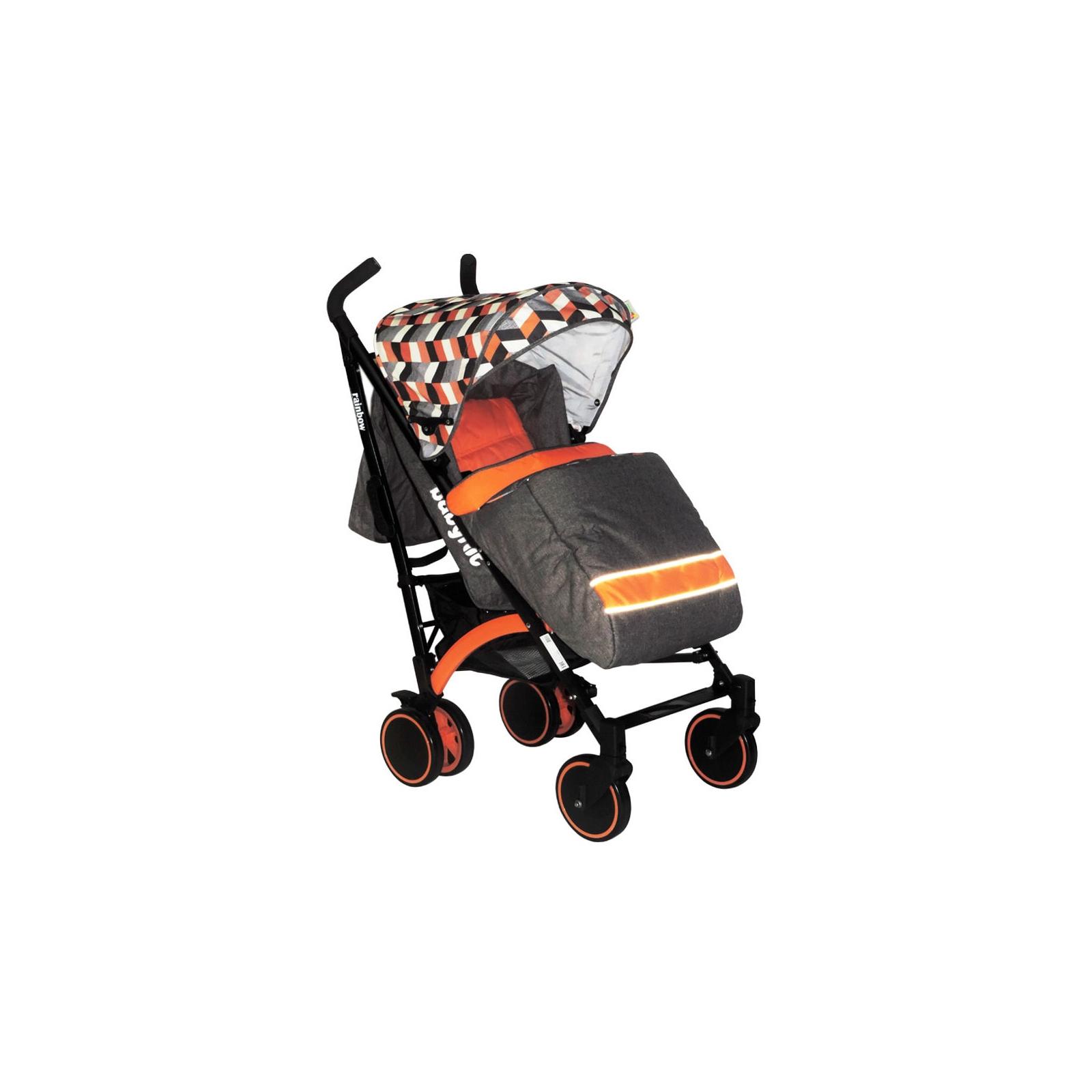 Коляска BabyHit Rainbow D200 Orange Diamond (14037)