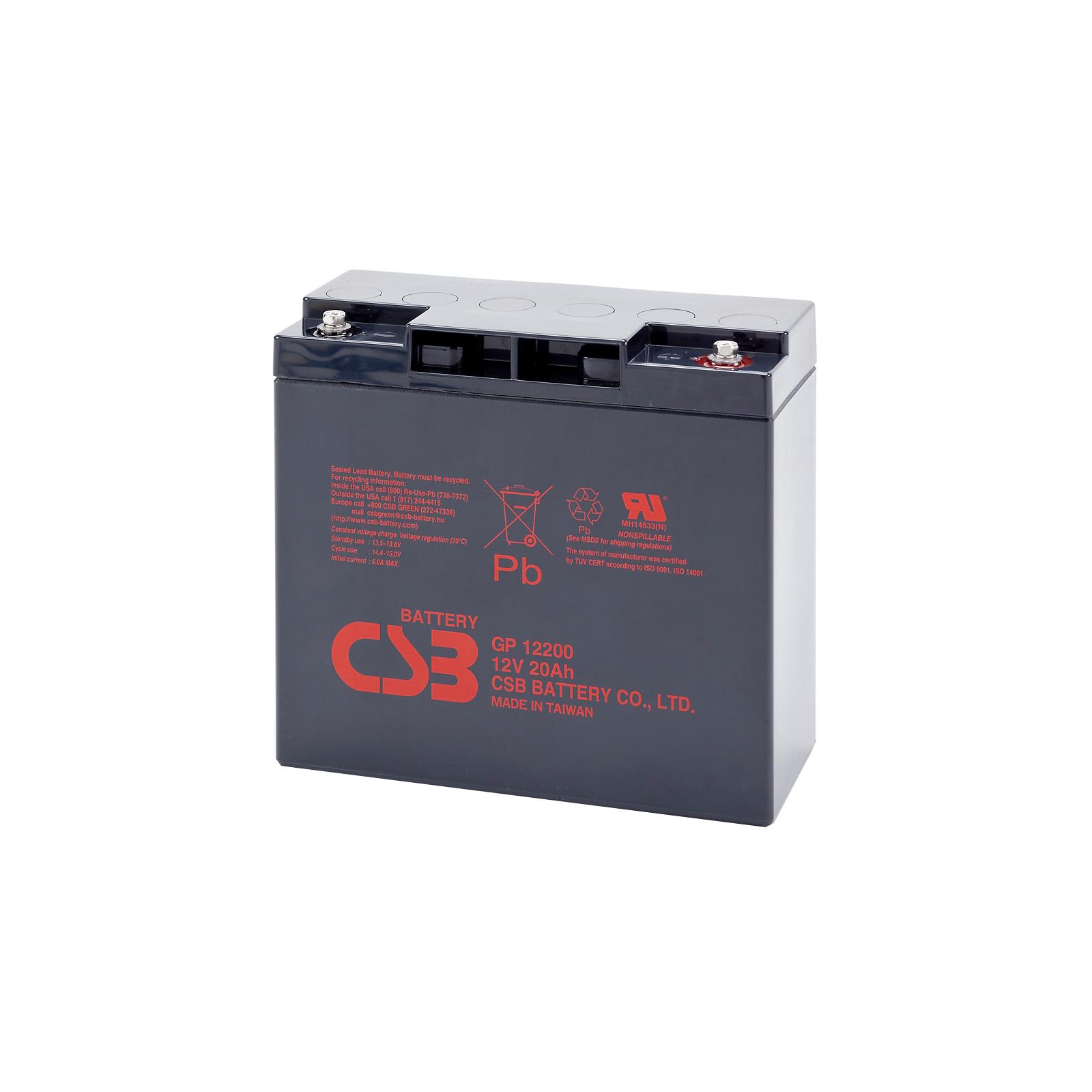 Батарея к ИБП CSB 12В 20 Ач (GP12200)