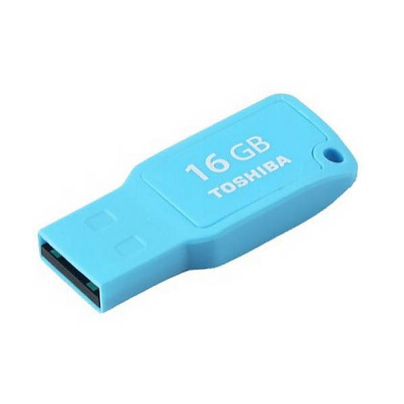 USB флеш накопитель Toshiba 16GB Mikawa Cyan USB 2.0 (THN-U201C0160M4) изображение 2