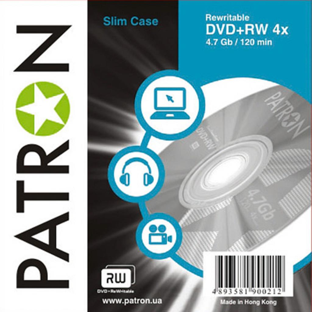 Диск DVD PATRON 4.7Gb 4x SLIM CASE 10шт (INS-D027)