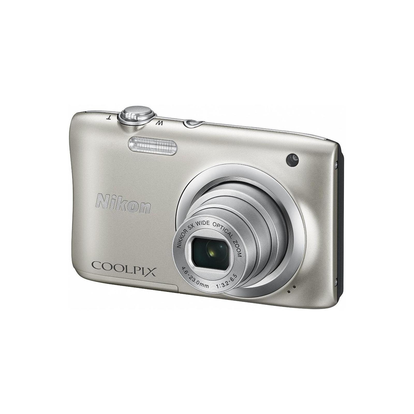 Цифровой фотоаппарат Nikon Coolpix A100 Silver (VNA970E1) изображение 2