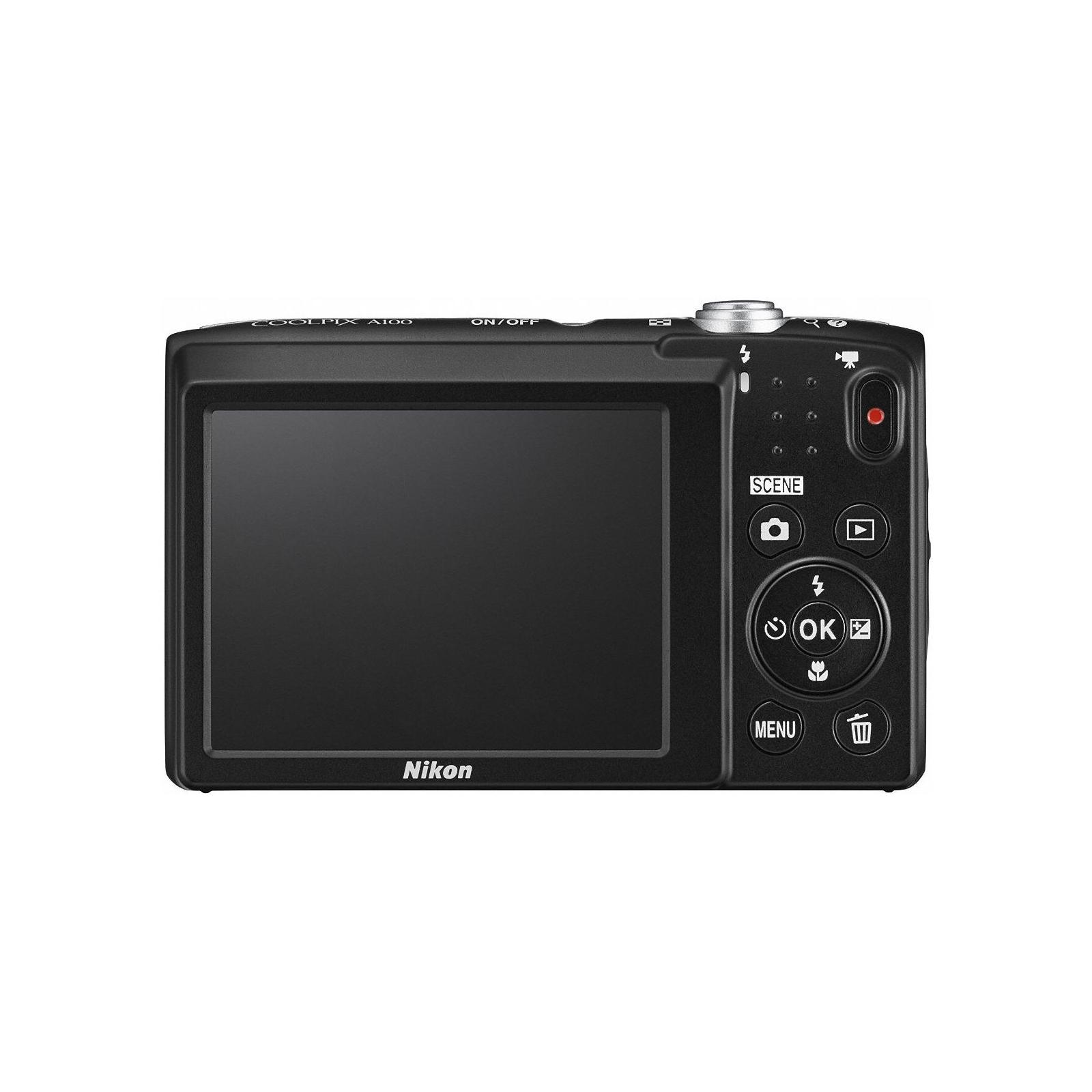 Цифровой фотоаппарат Nikon Coolpix A100 Silver (VNA970E1) изображение 3