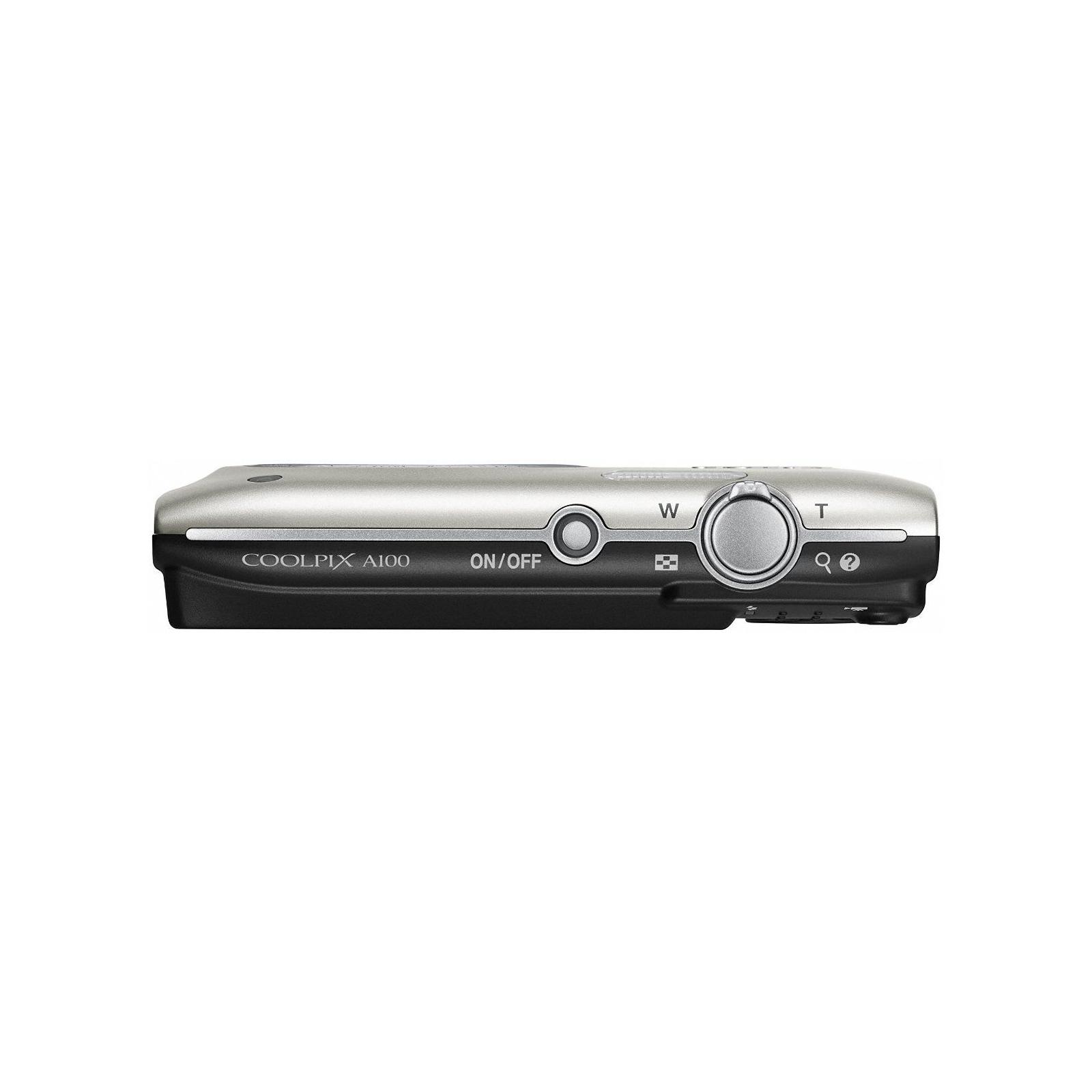 Цифровой фотоаппарат Nikon Coolpix A100 Silver (VNA970E1) изображение 4