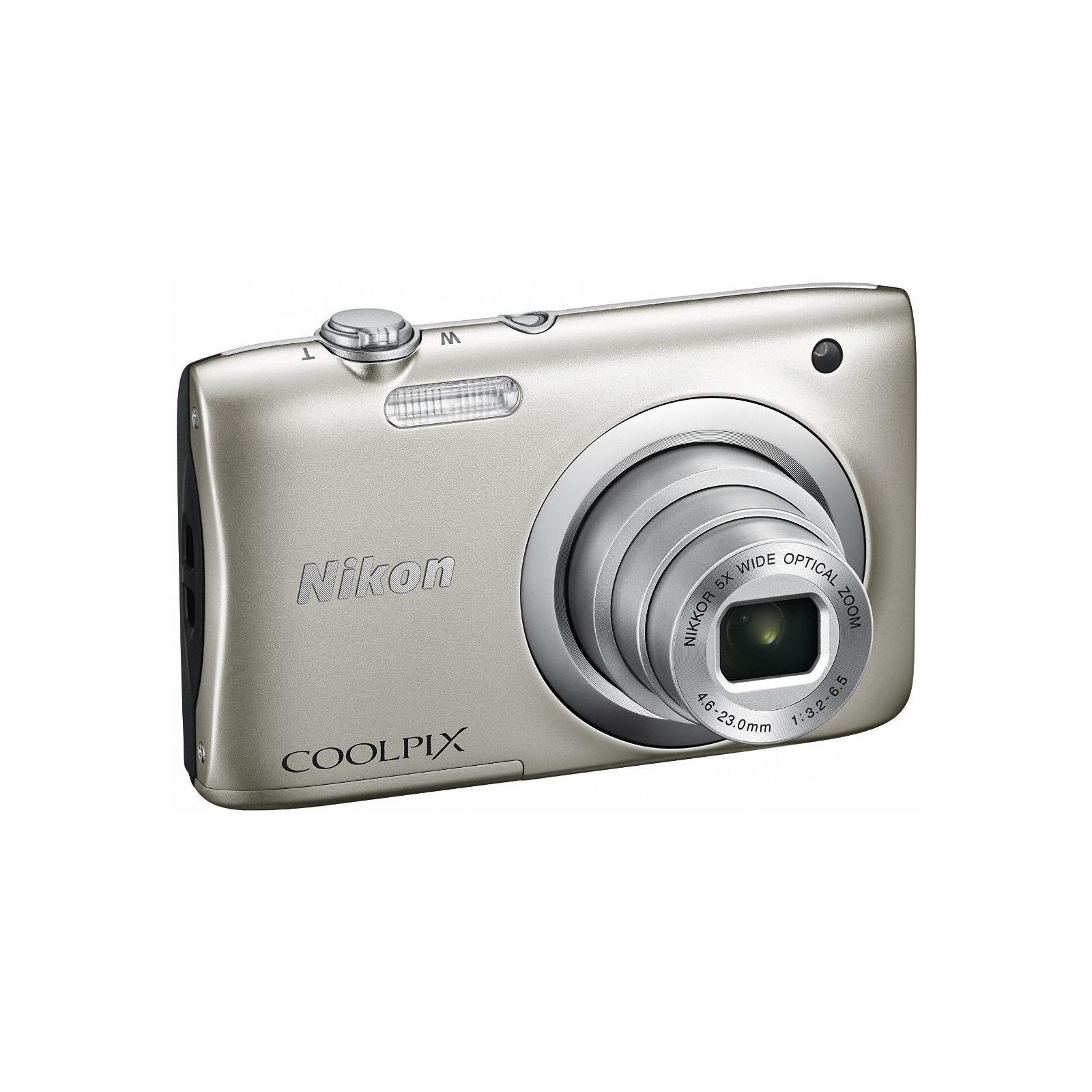 Цифровой фотоаппарат Nikon Coolpix A100 Silver (VNA970E1) изображение 5