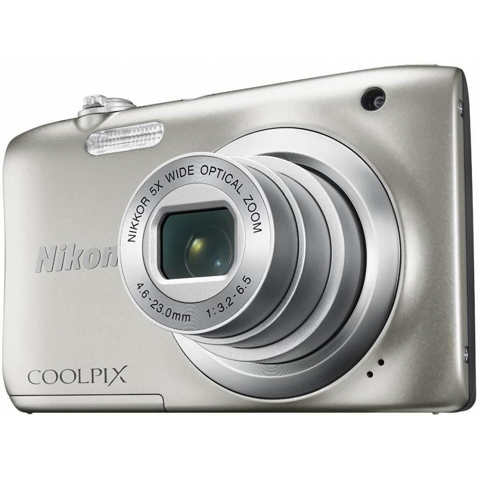 Цифровой фотоаппарат Nikon Coolpix A100 Silver (VNA970E1) изображение 6