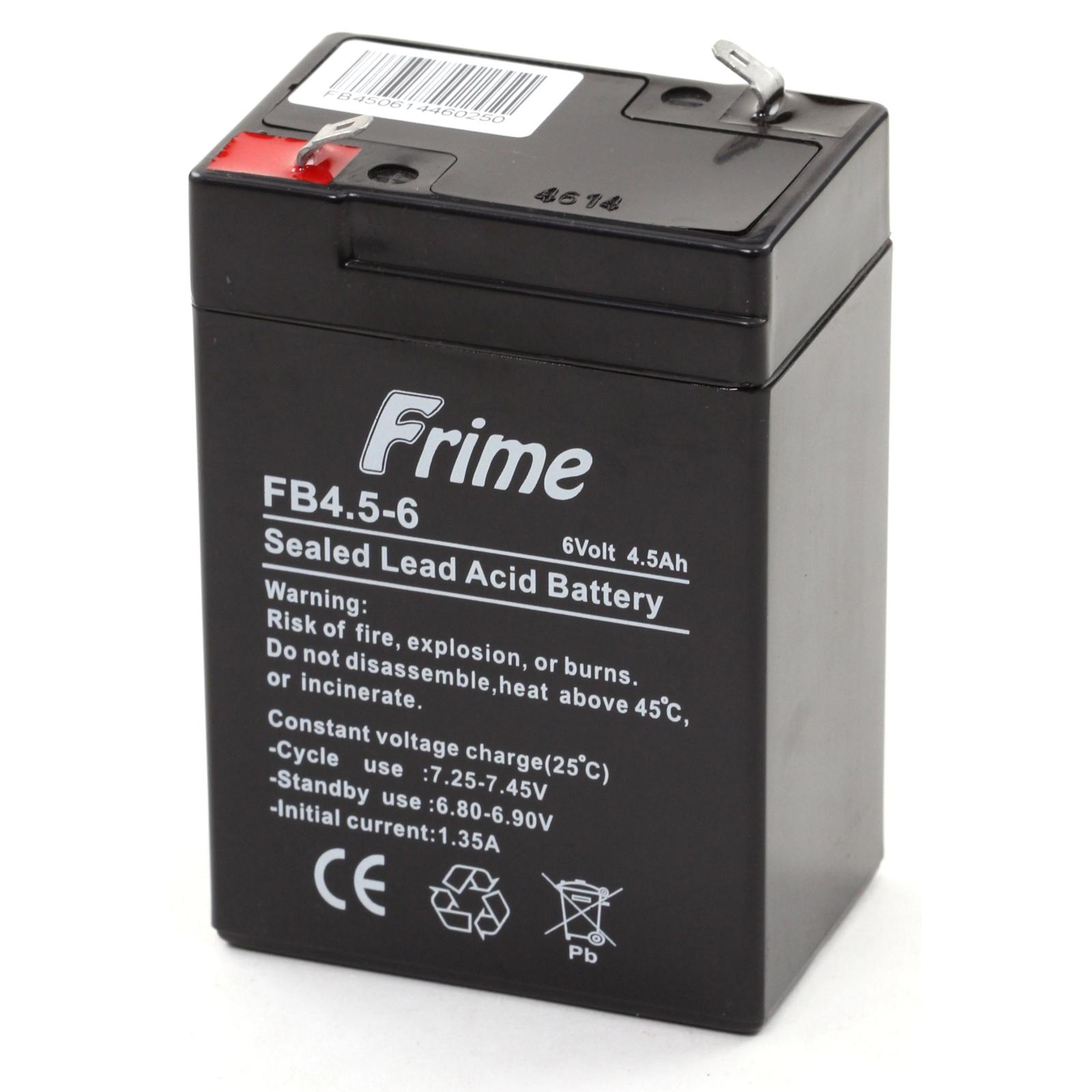 Батарея к ИБП Frime 6В 4.5 Ач (FB4.5-6)