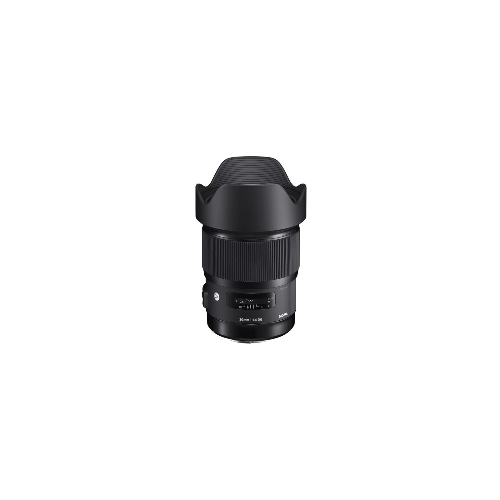 Объектив Sigma AF 20/1,4 DG HSM Art Nikon (412955) изображение 2