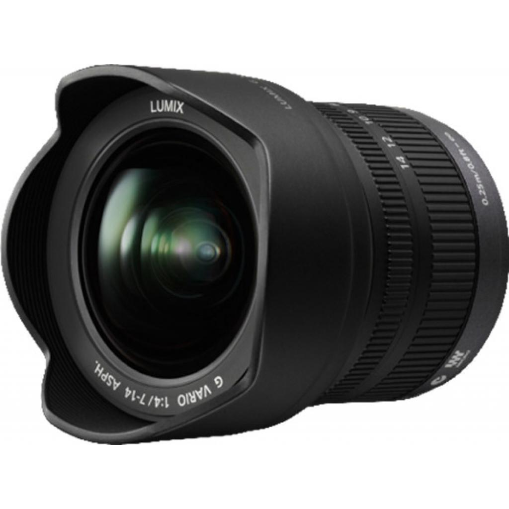 Объектив PANASONIC Lumix G 7 -14 mm F4.0 ASPH (H-F007014E) изображение 3