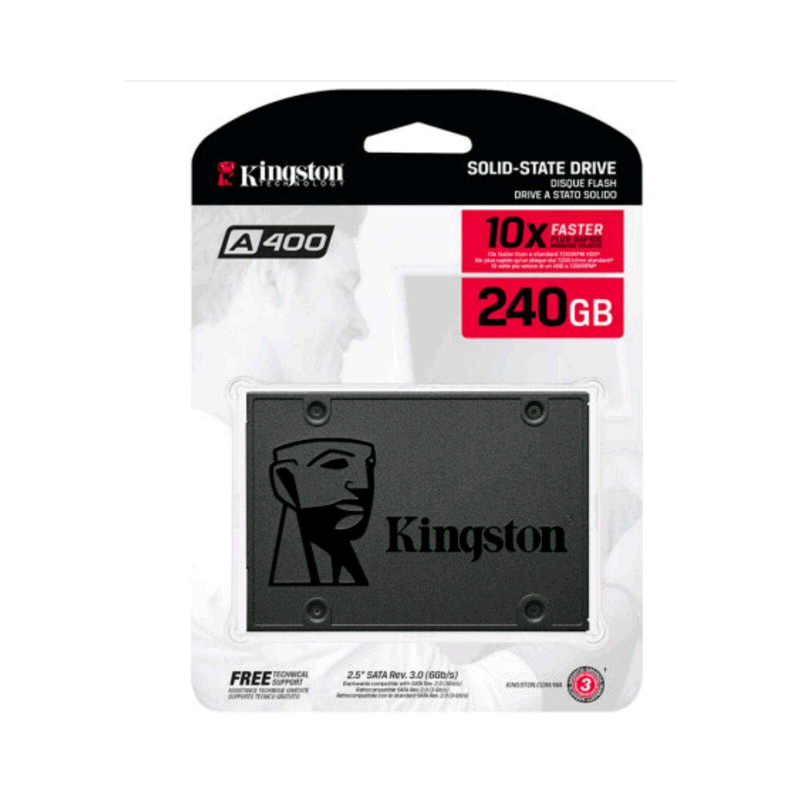 """Накопичувач SSD 2.5"""" 120GB Kingston (SA400S37/120G) зображення 5"""