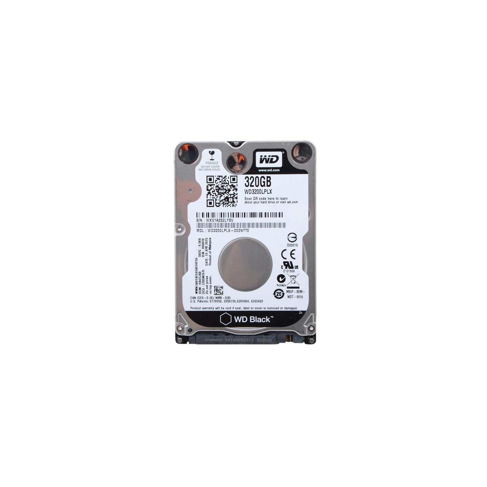 """Жесткий диск для ноутбука 2.5"""" 320GB WD (#WD3200LPLX-FR#)"""