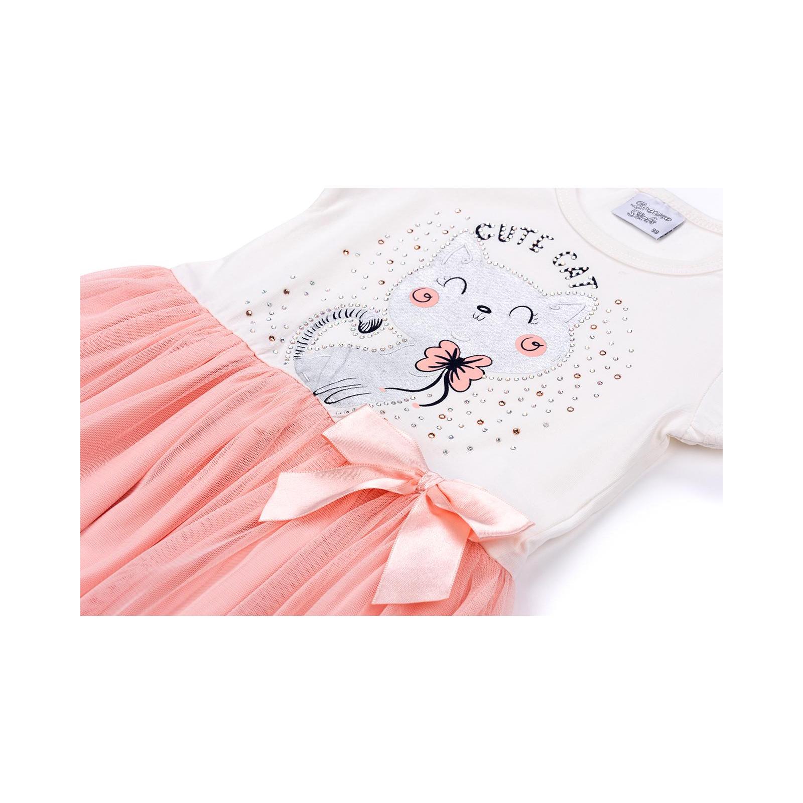 Платье Breeze с котиком (9774-104G-peach) изображение 4