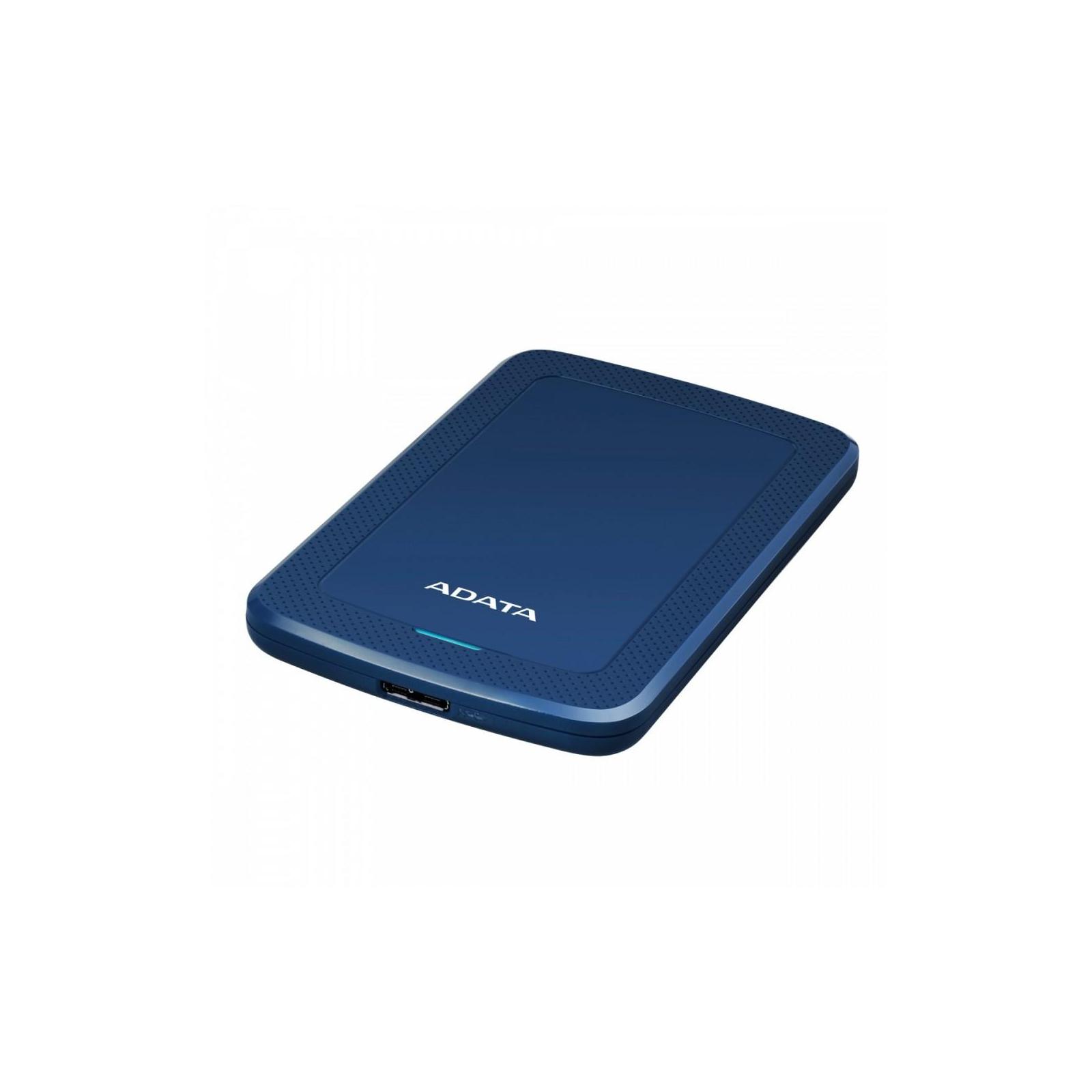 """Внешний жесткий диск 2.5"""" 1TB ADATA (AHV300-1TU31-CBL) изображение 2"""