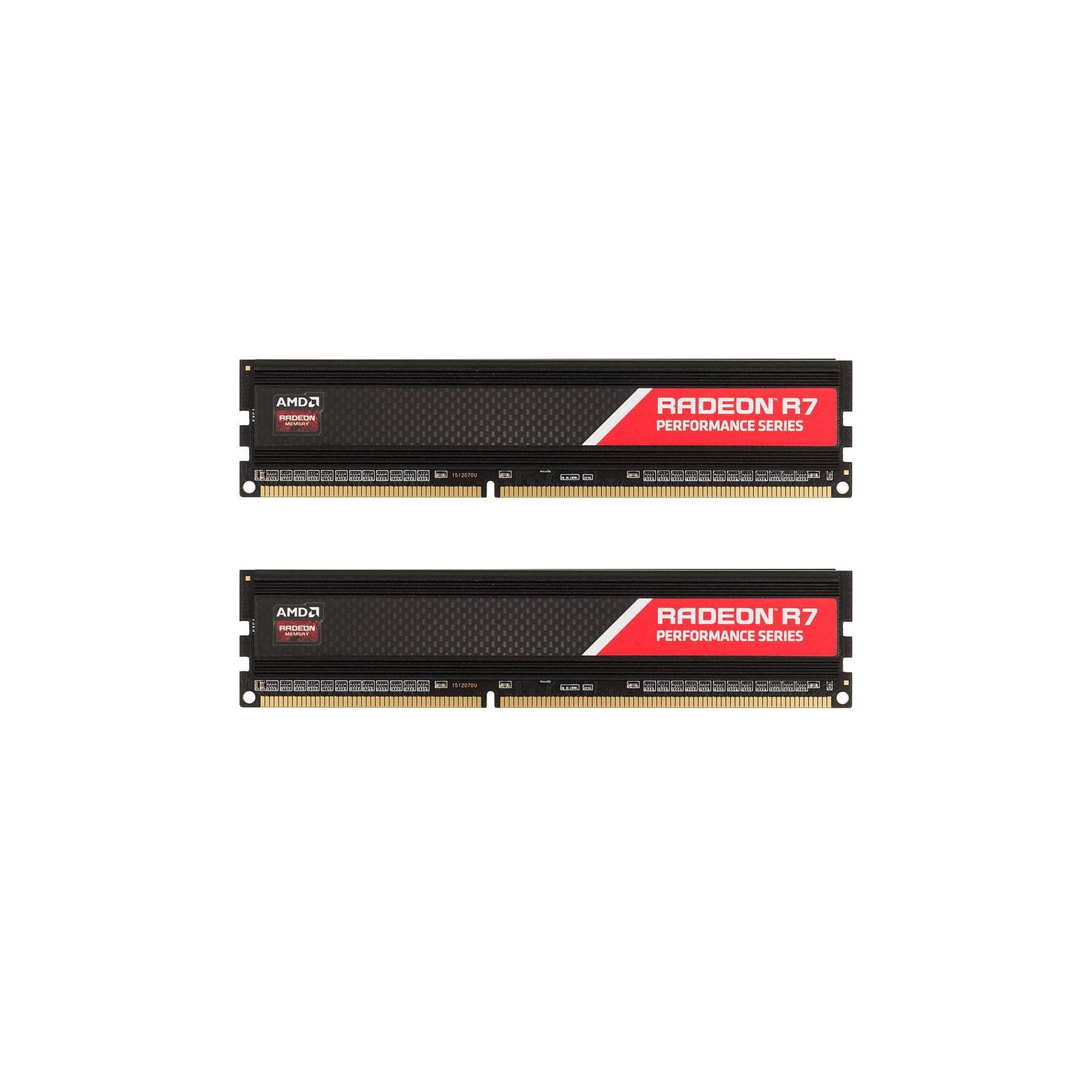 Модуль памяти для компьютера DDR4 8GB (2x4GB) 2400 MHz Radeon R7 AMD (R748G2400U1K)