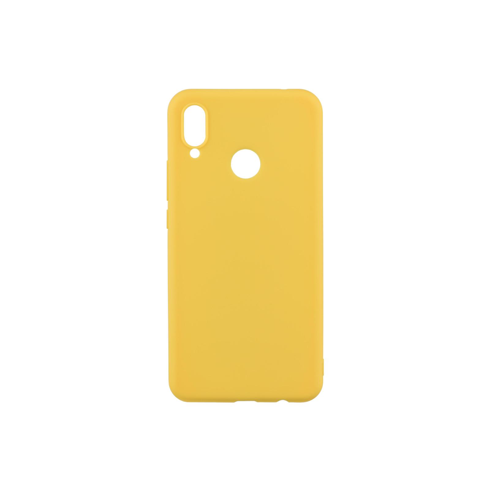 Чехол для моб. телефона 2E Huawei Y6 2018, Soft touch, Mustard (2E-H-Y6-18-NKST-MS)
