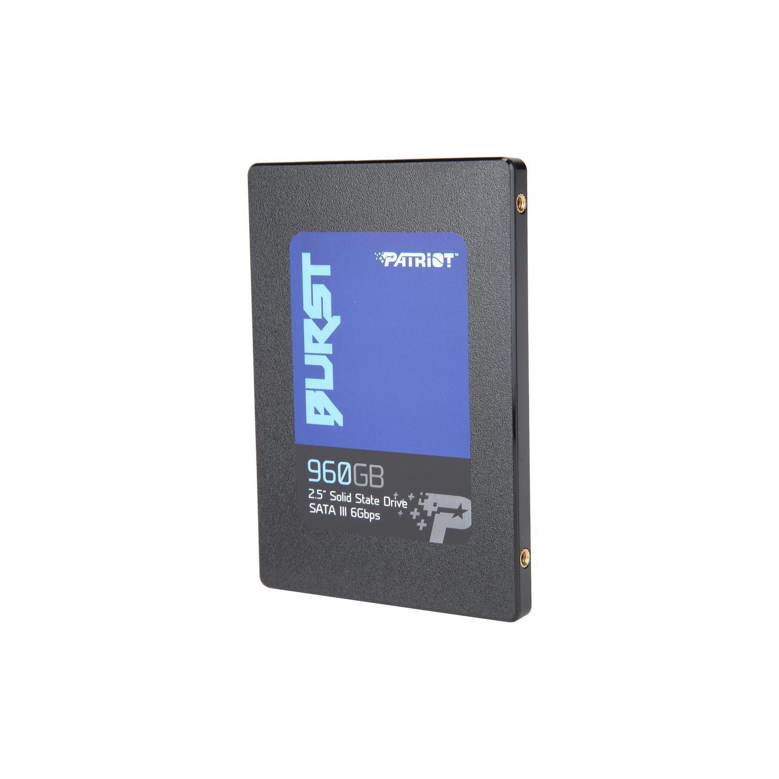 """Накопичувач SSD 2.5"""" 480GB Patriot (PBU480GS25SSDR) зображення 2"""