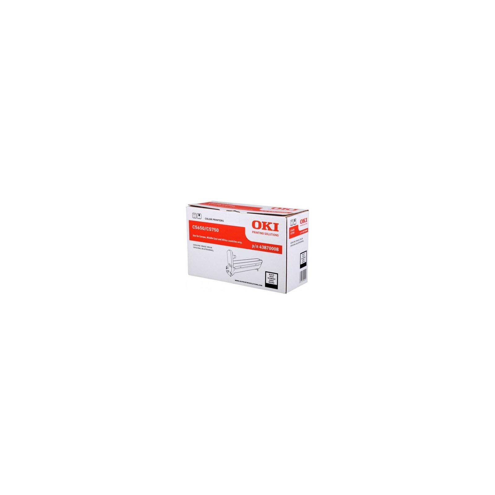 Фотокондуктор OKI C5650/5750 Black (43870008)