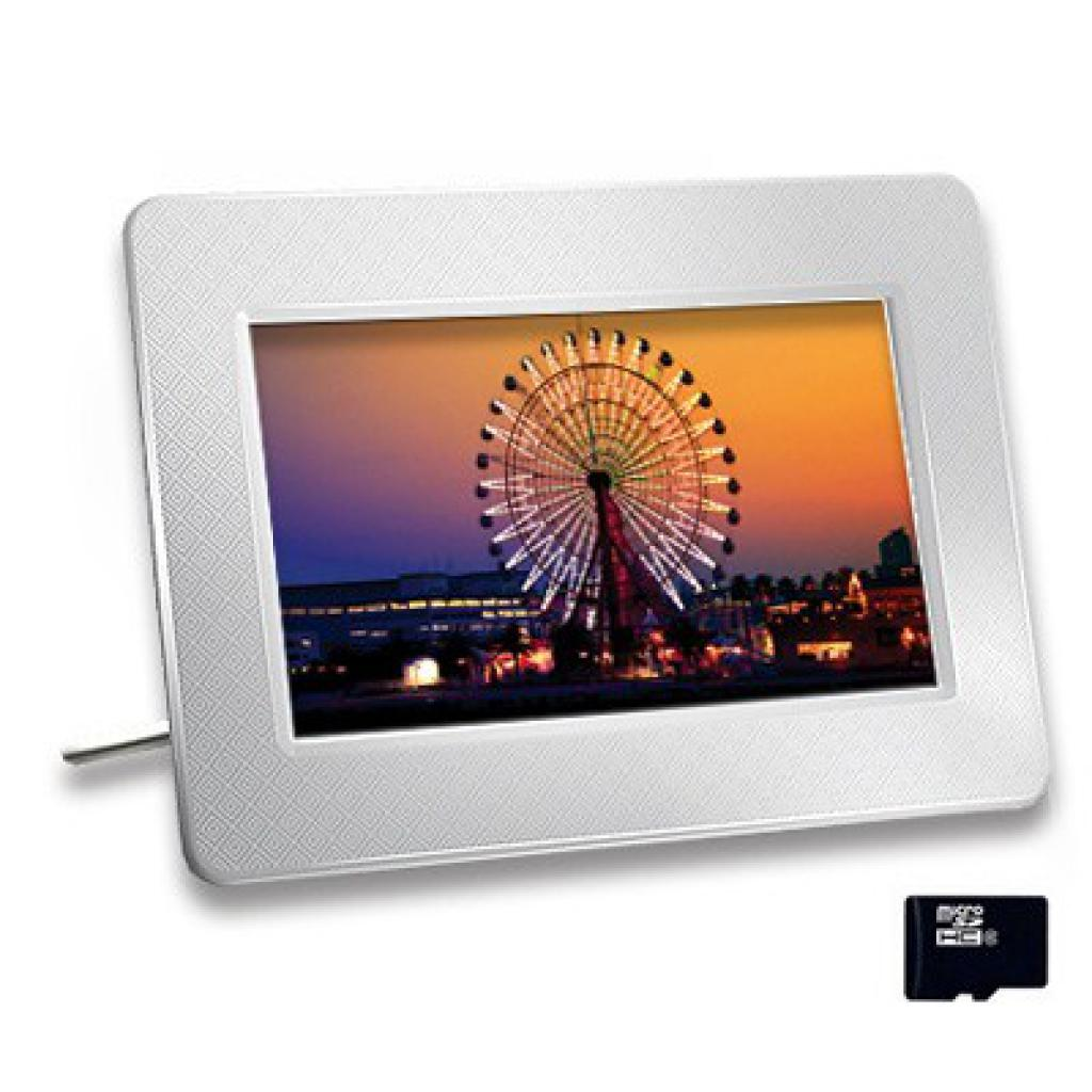Цифровая фоторамка Photo Frame 705 white Transcend (TS-PF705W)