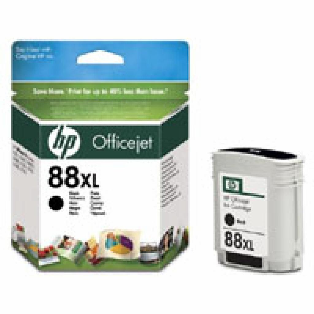 Картридж HP DJ No. 88XL Black, Officejet Pro K550/K5400, L7480/7580/7680 (C9396AE)