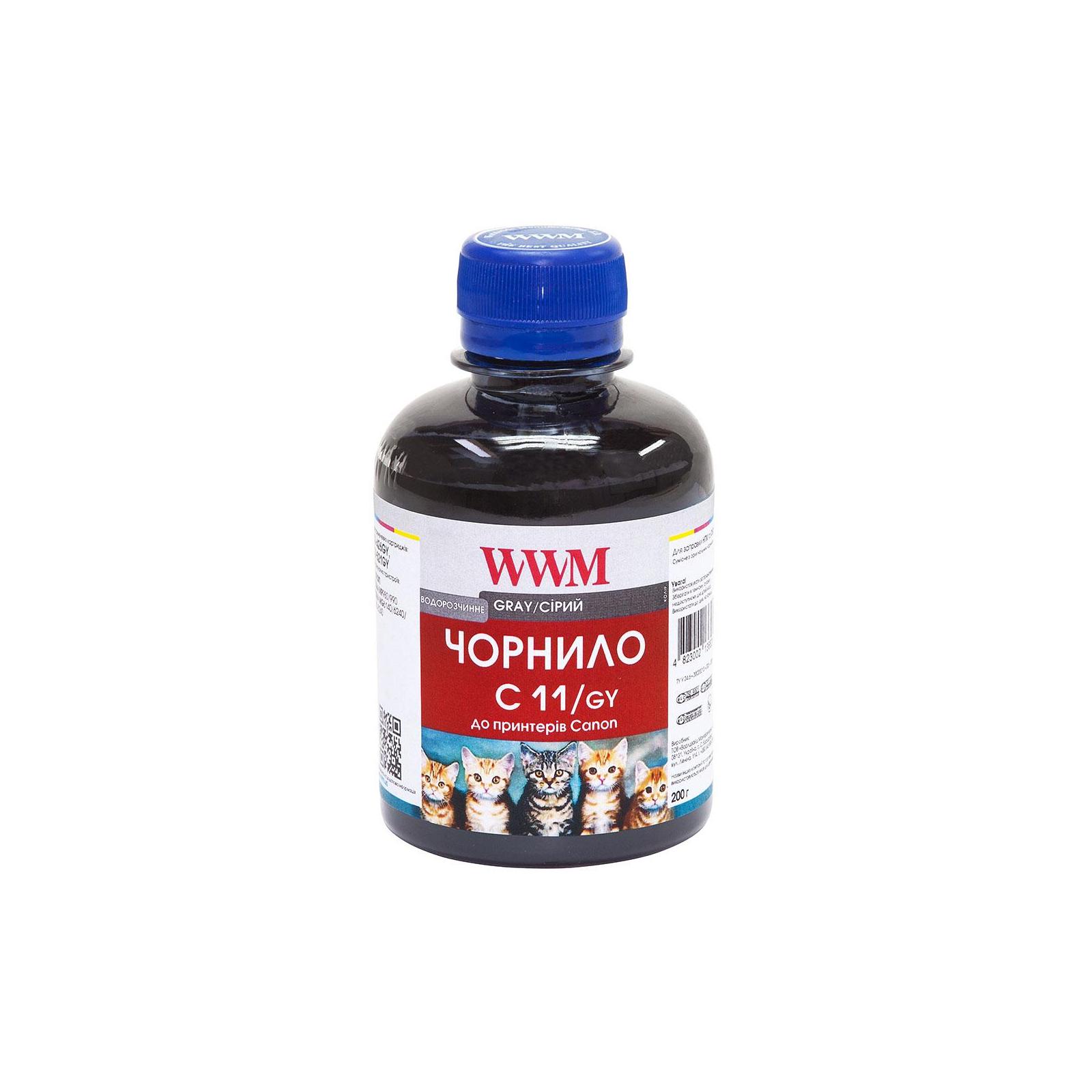 Чернила WWM CANON CLI426G/521 Grey (C11/GY)
